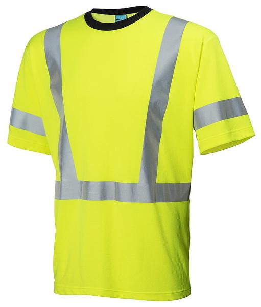 e0d4f984de9 Reflexní tričko Esbjerg s krátkým rukávem - žlutá