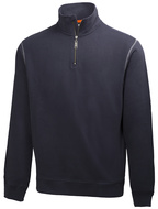 Mikina OXFORD HZ SWEATER-navy