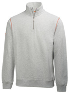 Mikina OXFORD HZ SWEATER-grey melange